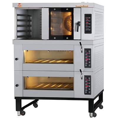 Combined Electric Oven - RO4+5+EO2x2-T