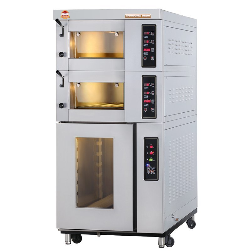 Combined Electric Oven - EO2x1-T+SP7