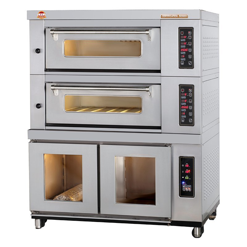 Combined Electric Oven - EO2x2-T+DP10