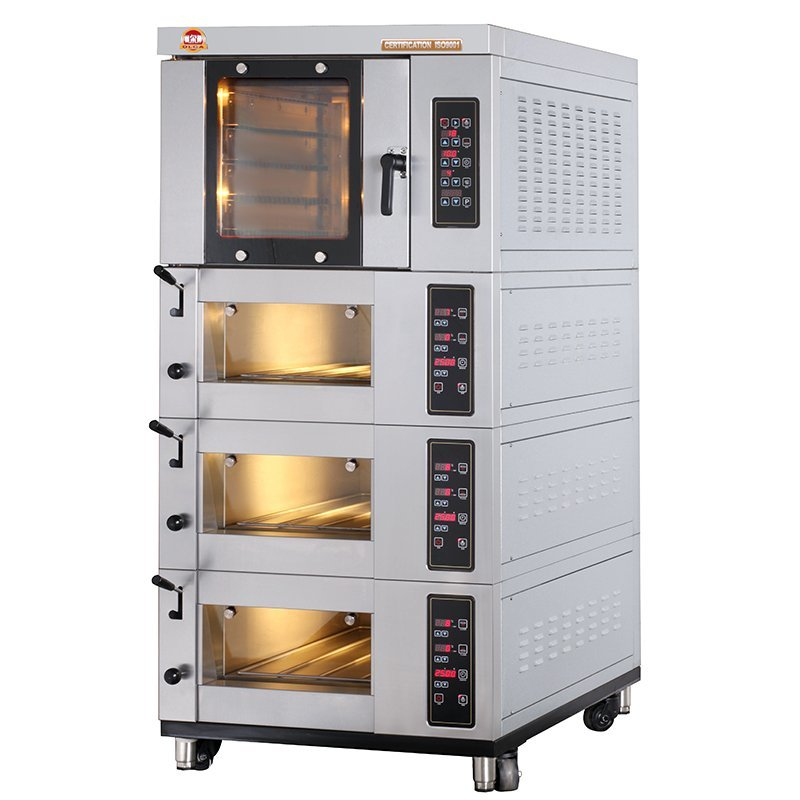 Combined Electric Oven - RO4+EO3x1-T